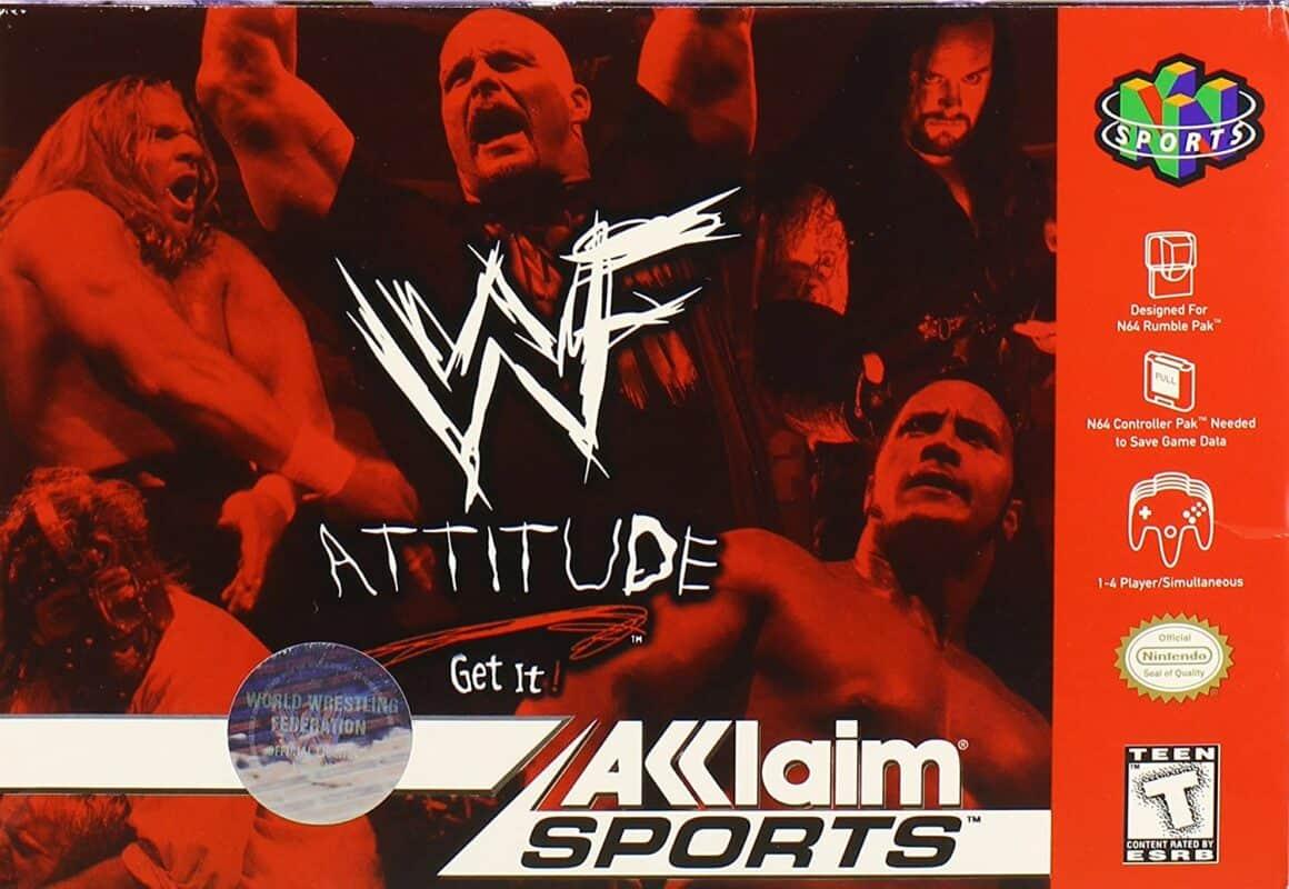 Best N64 Games - WWF Attitude