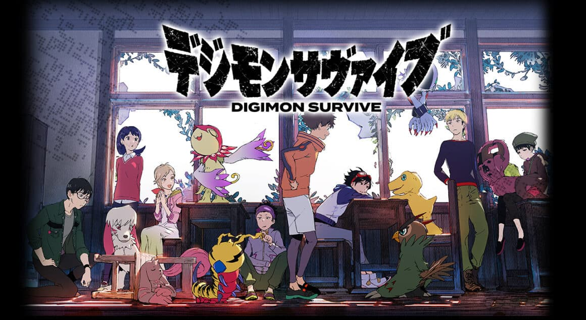 Digimon Survive - The characters from the school outing
