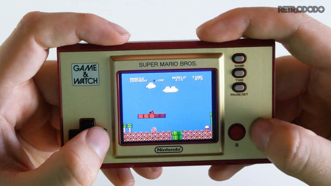 new game & watch super mario 2