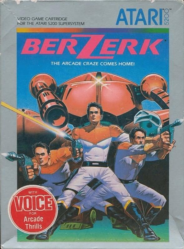 Best Atari 5200 Games - bezerk