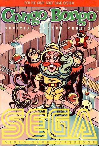 Best Atari 5200 Games - Congo Bongo