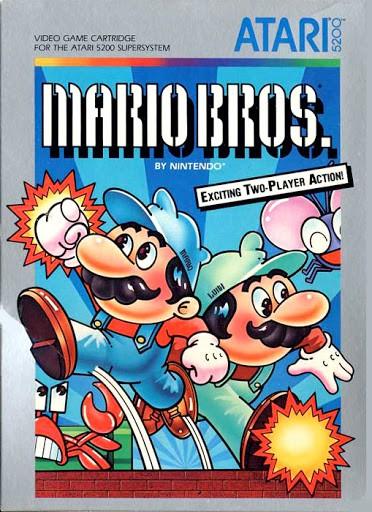 Best Atari 5200 Games - Mario Bros