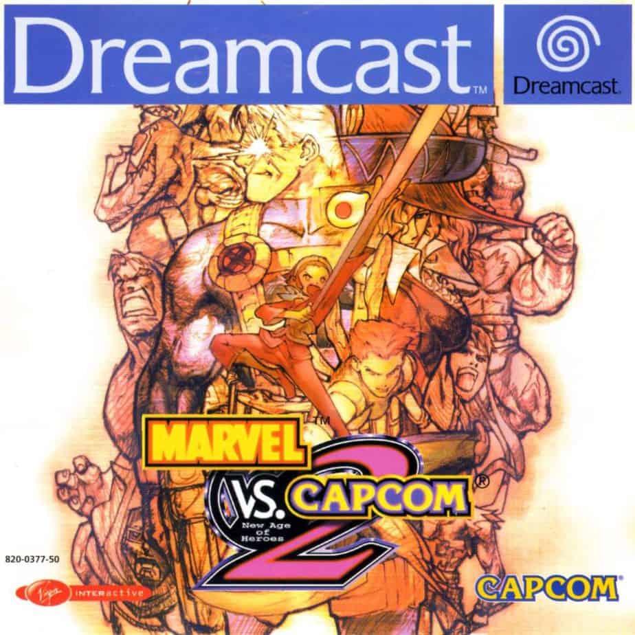 Best Fighting Games - Marvel Vs Capcom 2