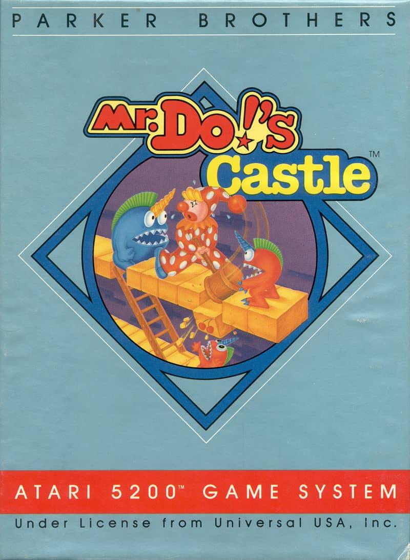 Best Atari 5200 Games - Mr Do's Castle