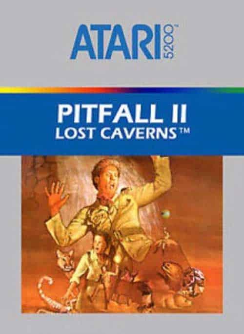 Best Atari 5200 Games - Pitfall 2: Lost Caverns