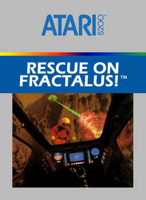 Best Atari 5200 Games - Rescue On Fractalus!
