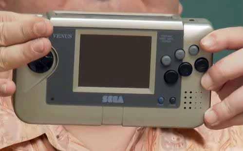 Sega Venus Handheld - the prototype that led to the Sega Nomad