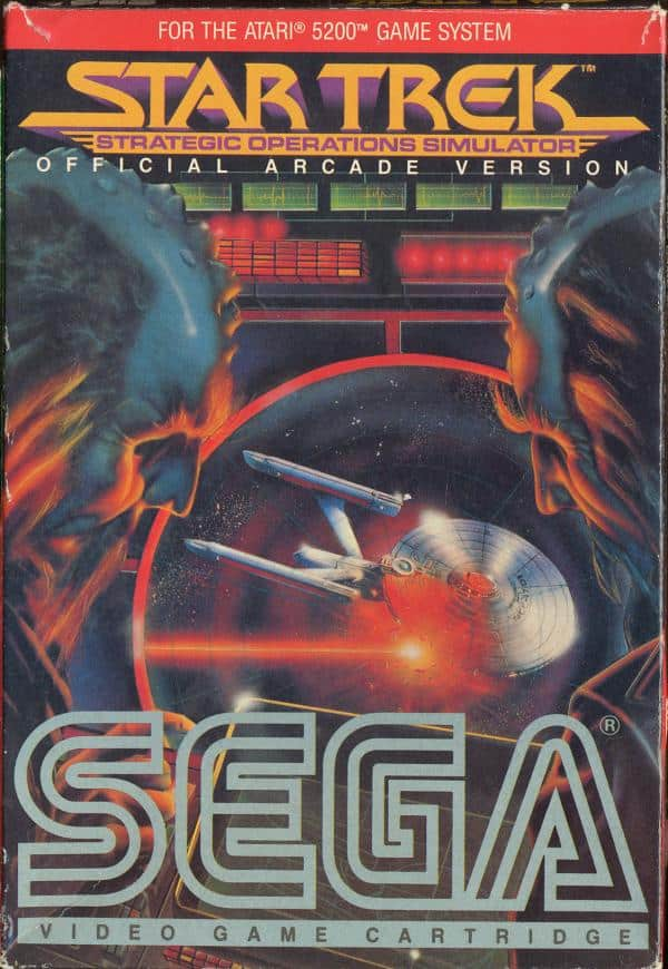 Best Atari 5200 Games - Star Trek Strategic Operations Simulator