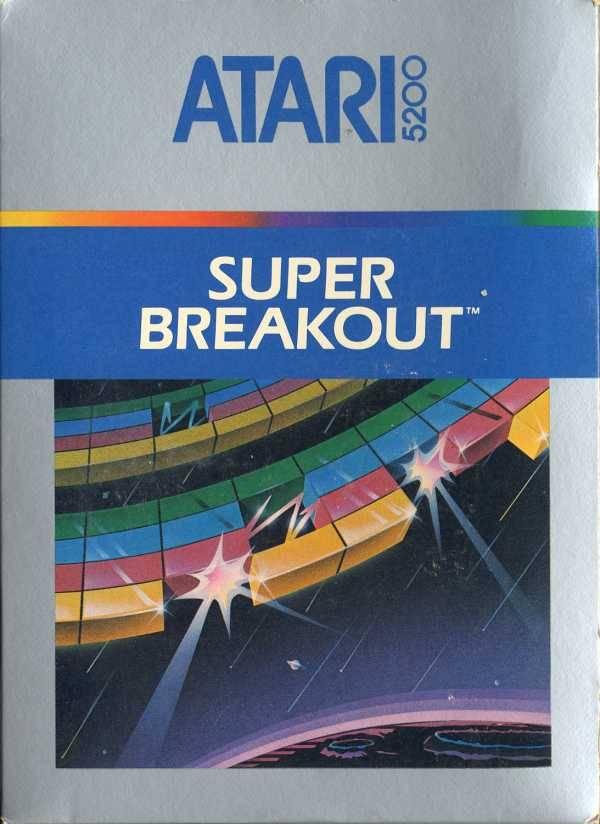 Best Atari 5200 Games - Super Breakout