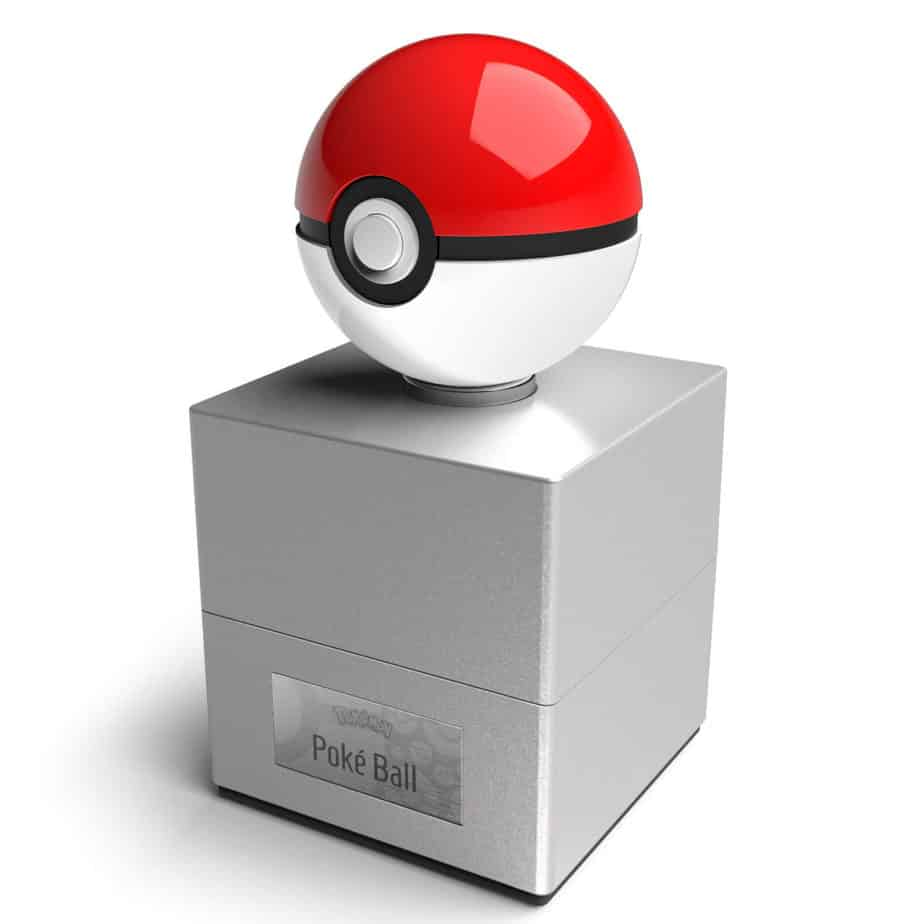 pokeball replica stand
