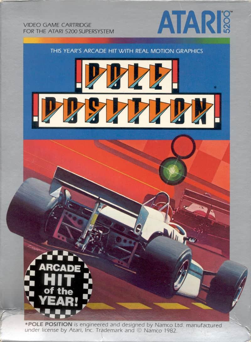 Best Atari 5200 Games - Pole Position