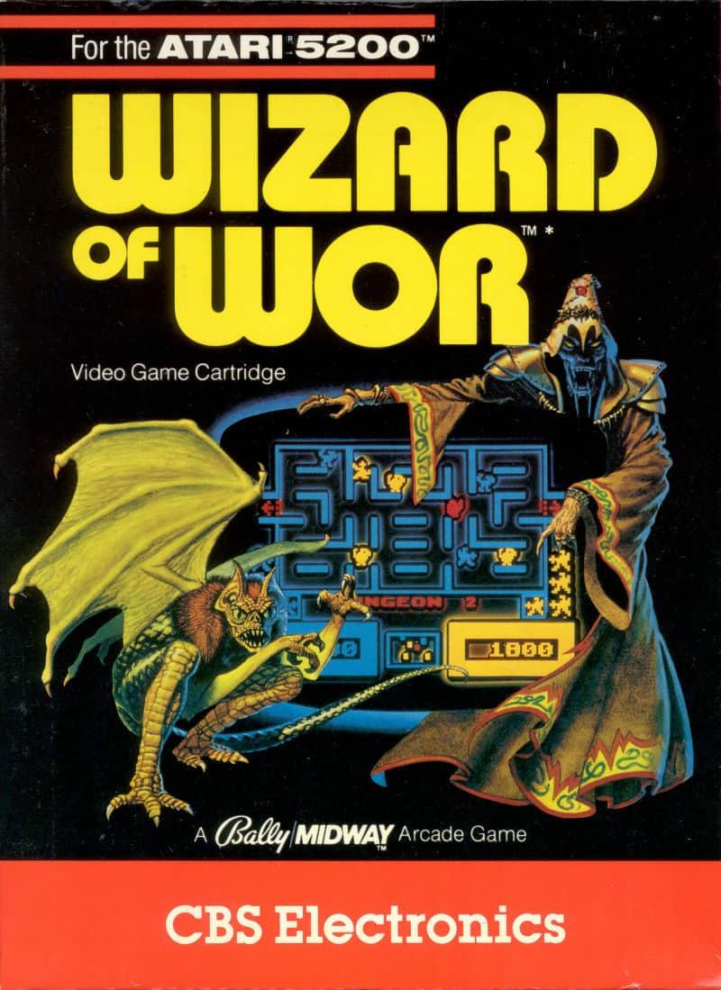 Best Atari 5200 Games - Wizard Of Wor