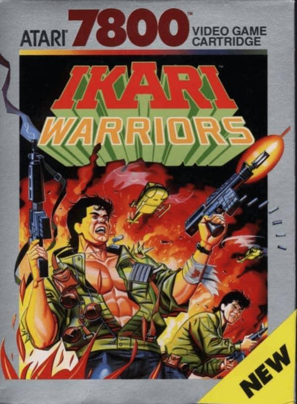 best Atari 7800 games - Ikari Warriors