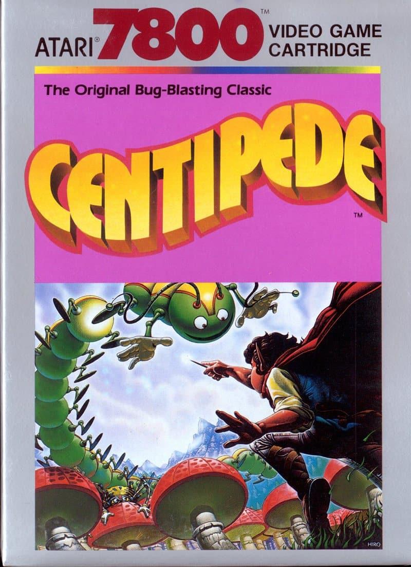 best Atari 7800 games - Centipede front cover