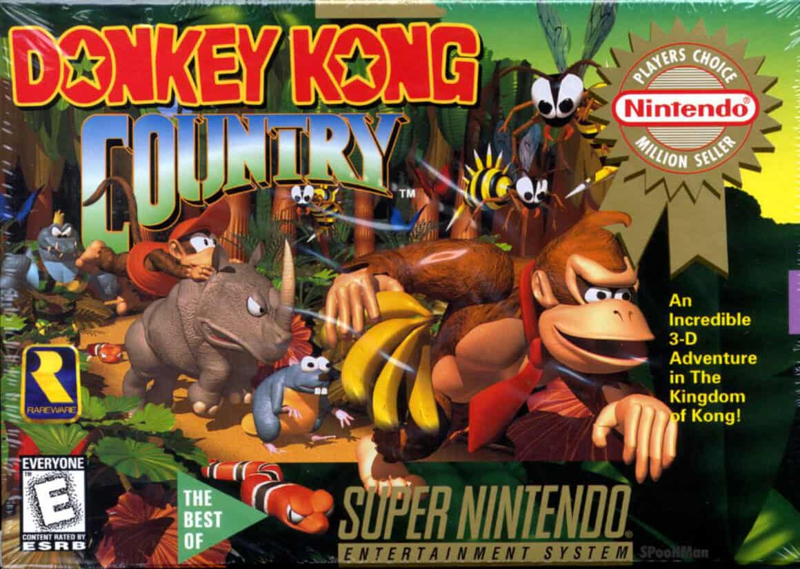 Best 90s Games - Donkey Kong Country SNES