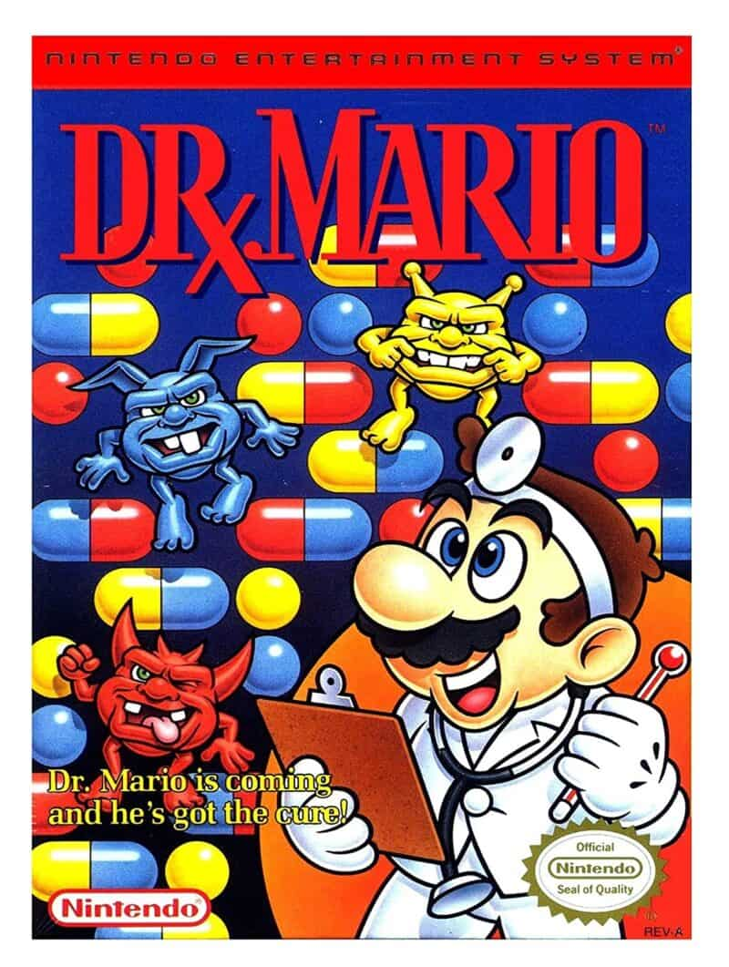 Best Mario Games - Dr Mario