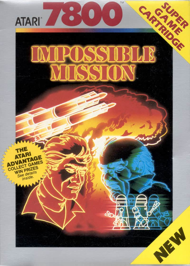 best Atari 7800 games - impossible mission
