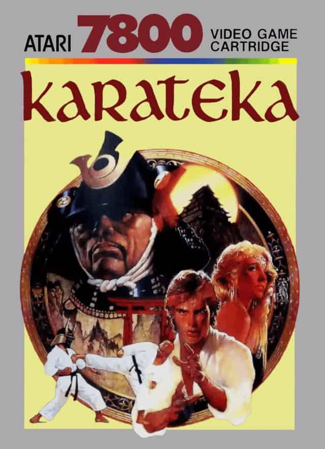 best Atari 7800 games - Karateka front cover