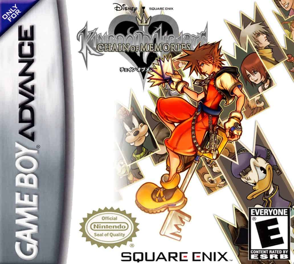 Best Gameboy Advance Games - Kingdom Hearts: Chain of Memories