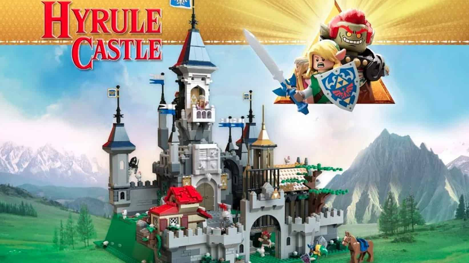 Lego Zelda Kit Creates Stunning Replica Of Hyrule Castle