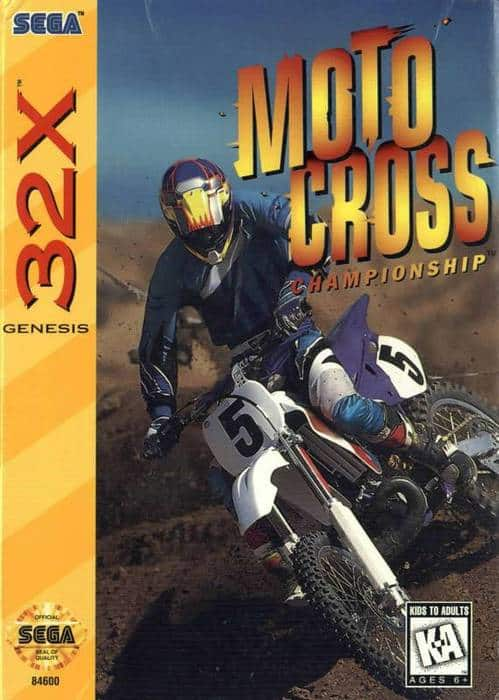 Best 32X games - Motocross Championship front cover