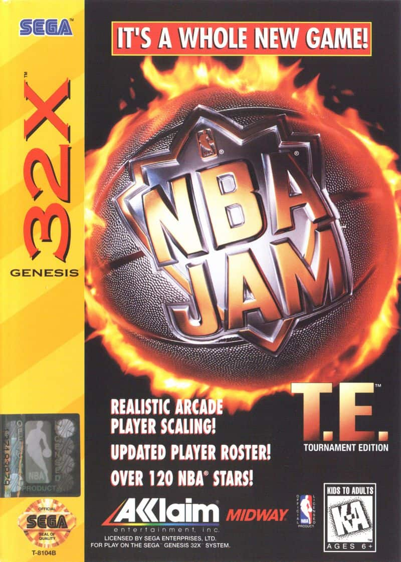 Best 32X games - NBA Jam Tournament Edition front cover