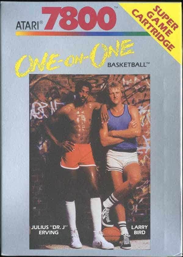 best Atari 7800 games - One-on-One Basketball front cover