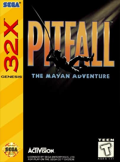 Pitfall: The Mayan Adventure front cover