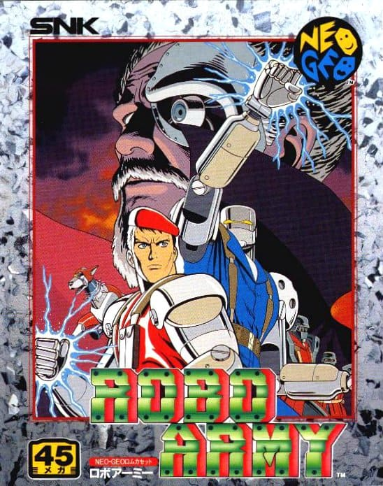 Best Neo Geo Games - Robo Army
