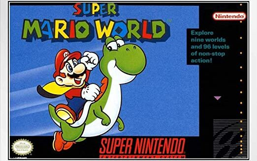 Best Mario Games - Super Mario World