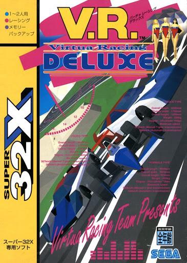 Best 32X games - Virtua racing Deluxe