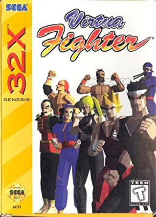Best 32X games - Virtua fighter front cover
