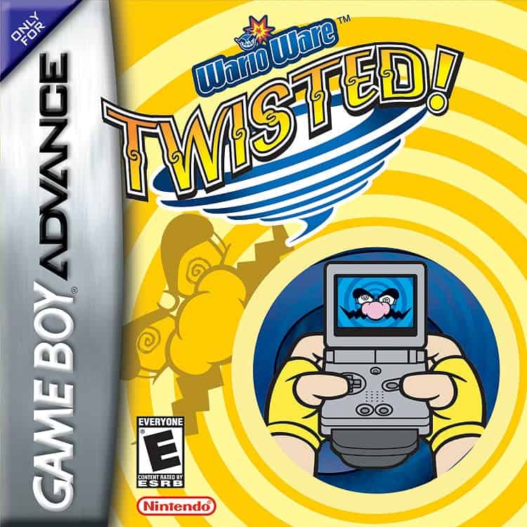Best Gameboy Advance Games - WarioWare: Twisted