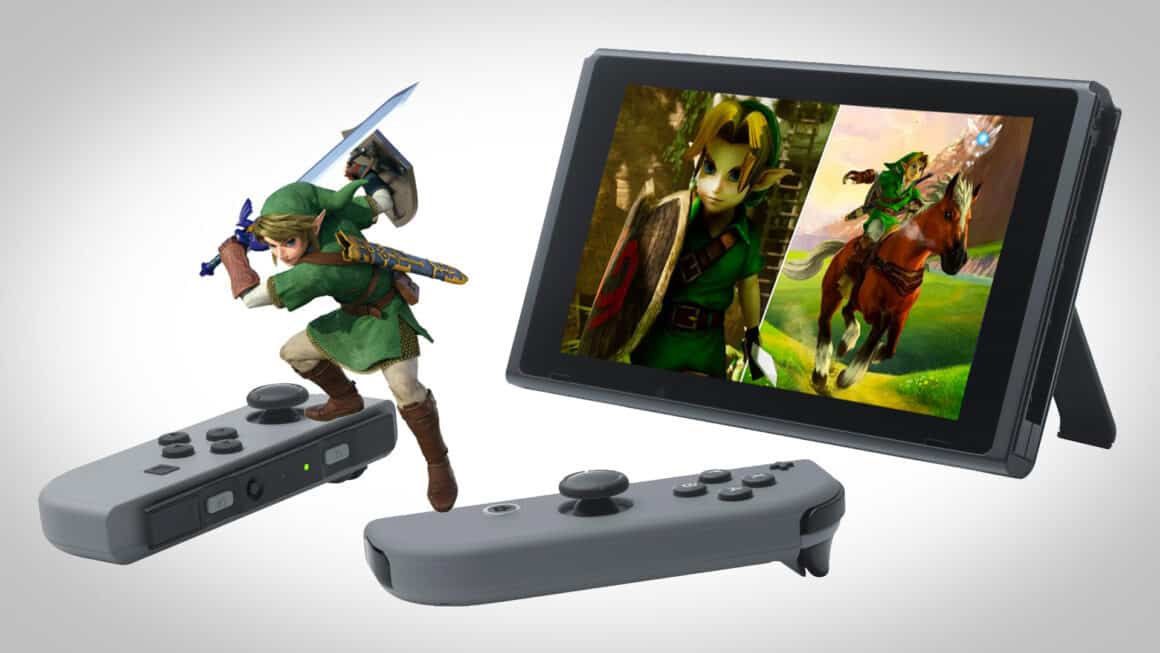 Zelda Ocarina Of Time Switch HD Remake