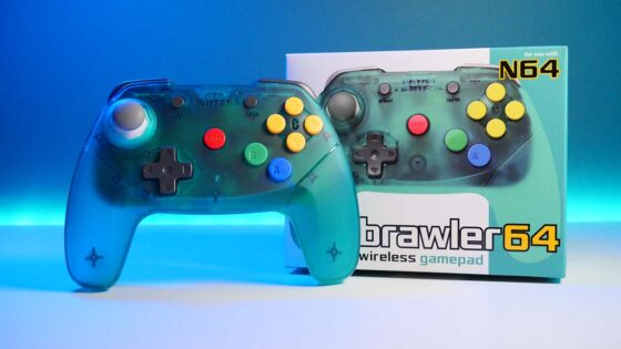 brawler64 wireless controller