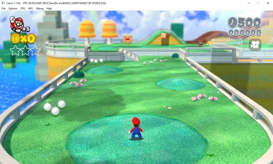 Cemu Wii U Emualtor