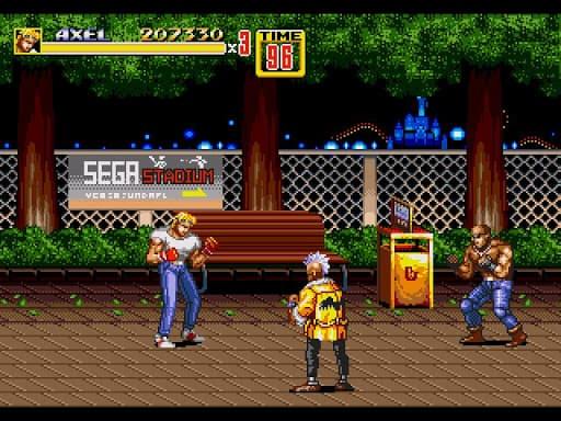 streets of rage ii gameplay