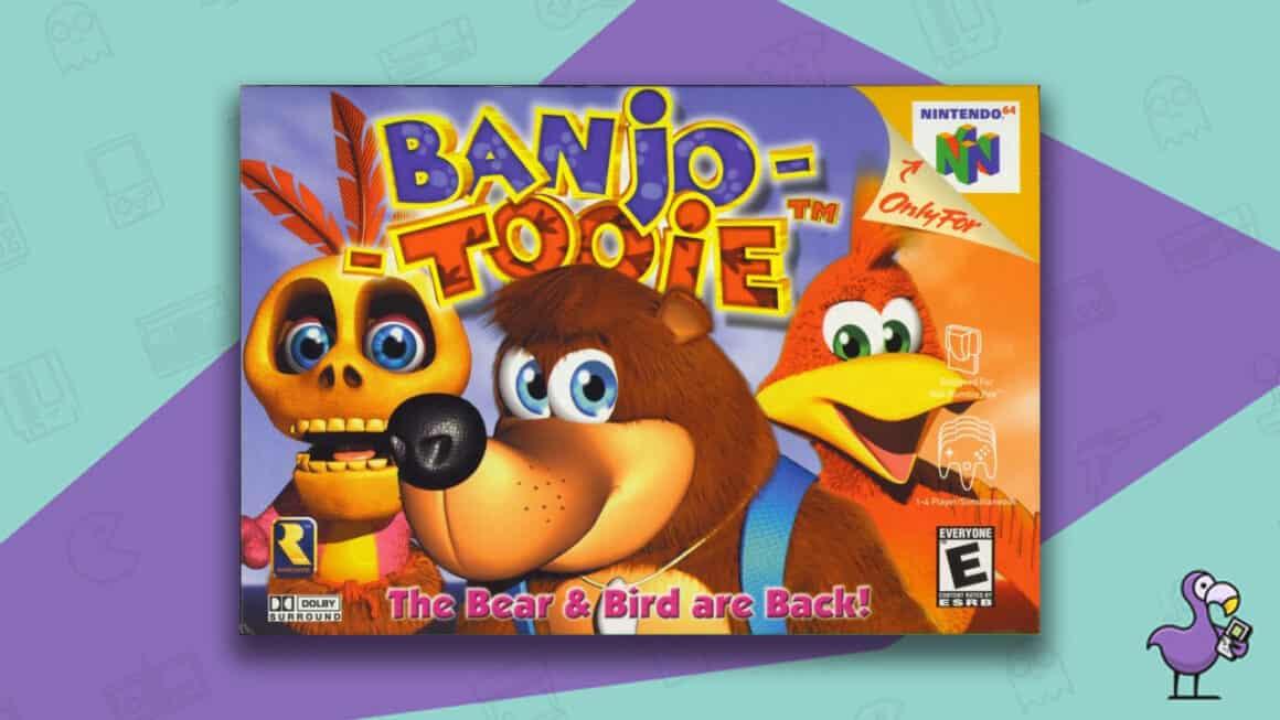 Rare N64 games - Banjo Tooie game case