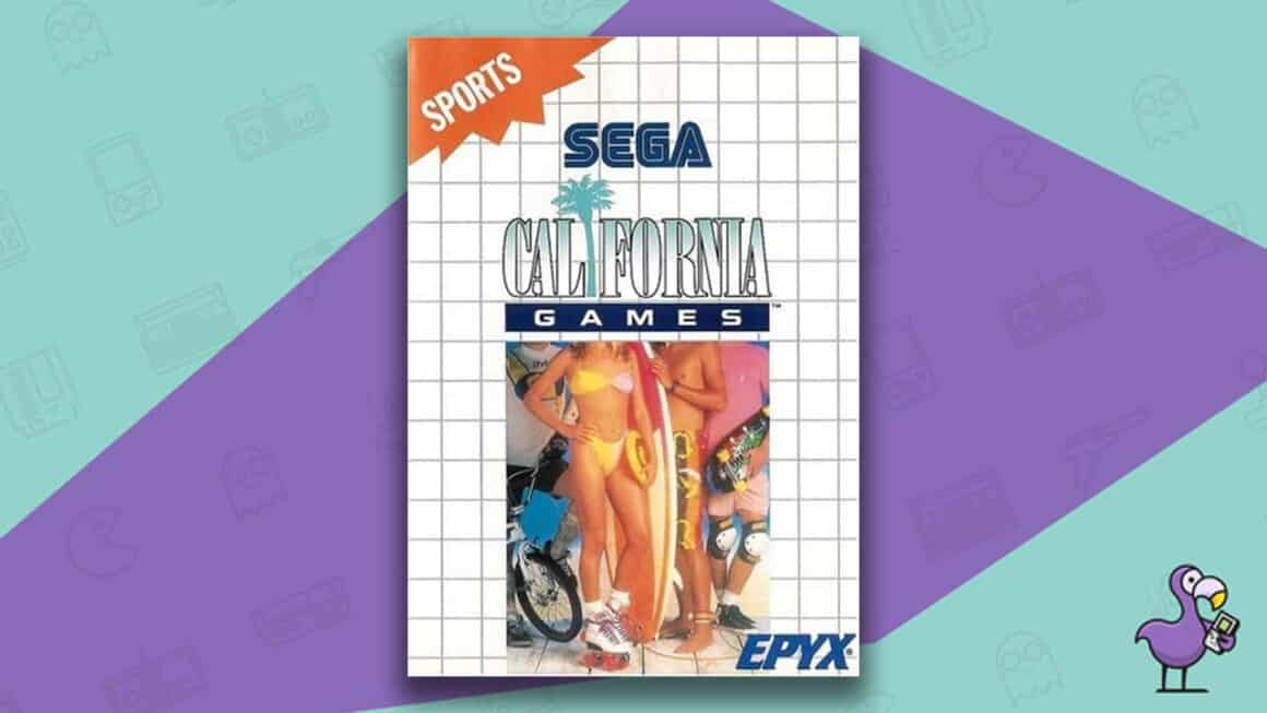 Best Master System Games - California Games game case