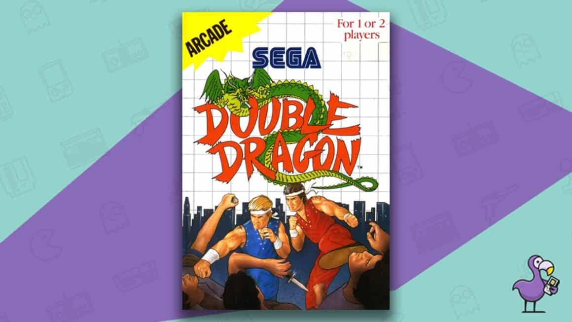 Best Master System Games - Double Dragon game cover