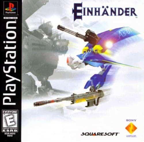 Best PS1 games - Einhänder cover art
