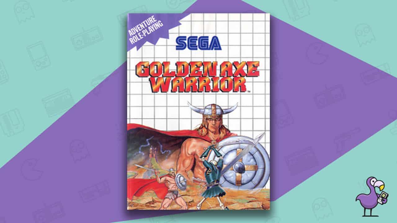 Best Master System Games - Golden Axe Warrior game case