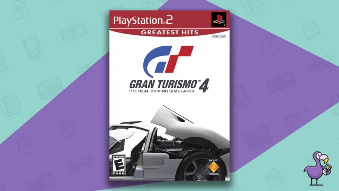 Best PS2 Games - Gran turismo 4 game case cover art