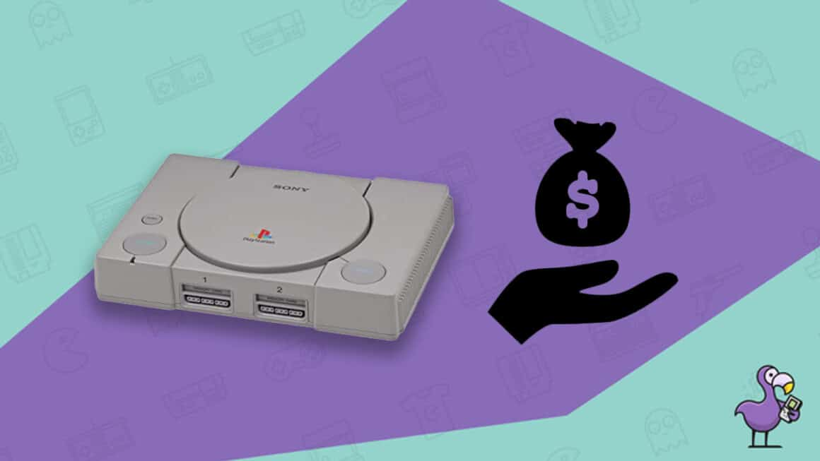 How much is a PS1 worth - Ps1 console image