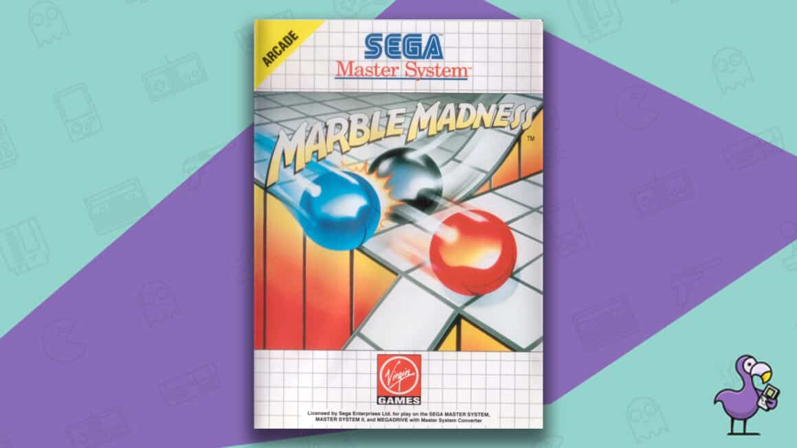 Best Master System Games - Marble Madness game cover