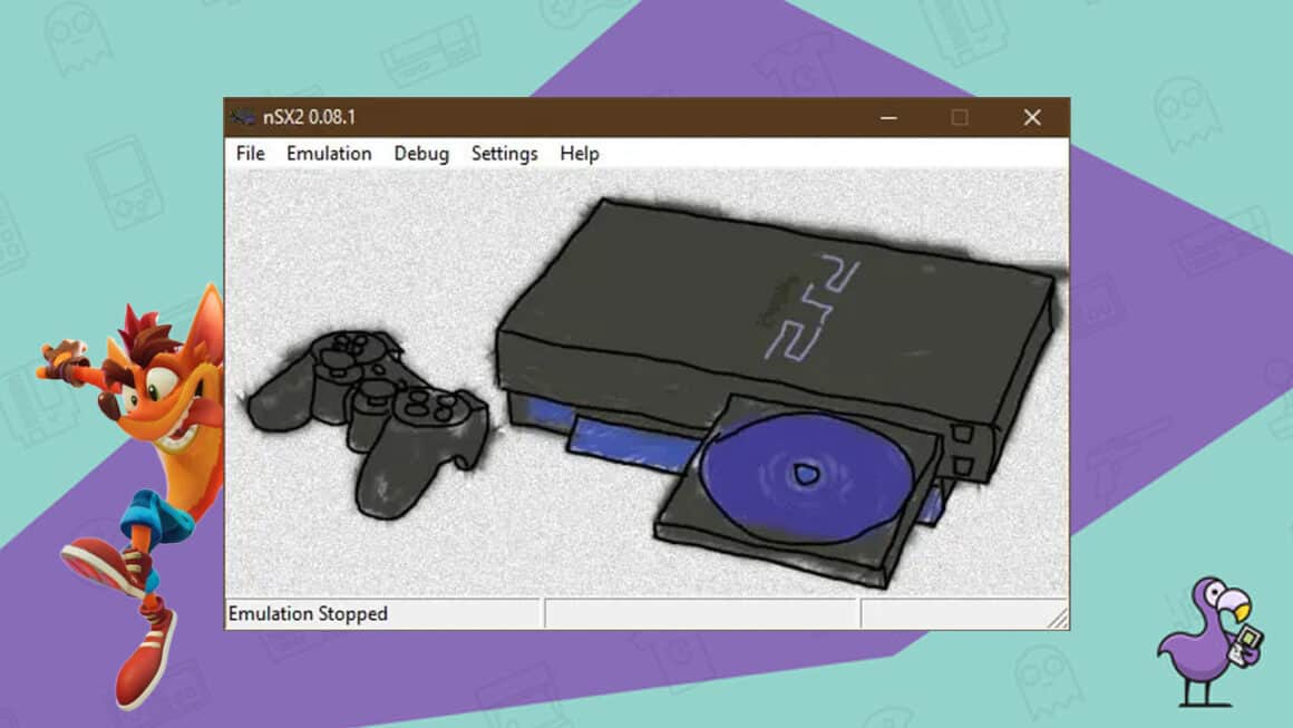 best PS2 emulators - NSX2