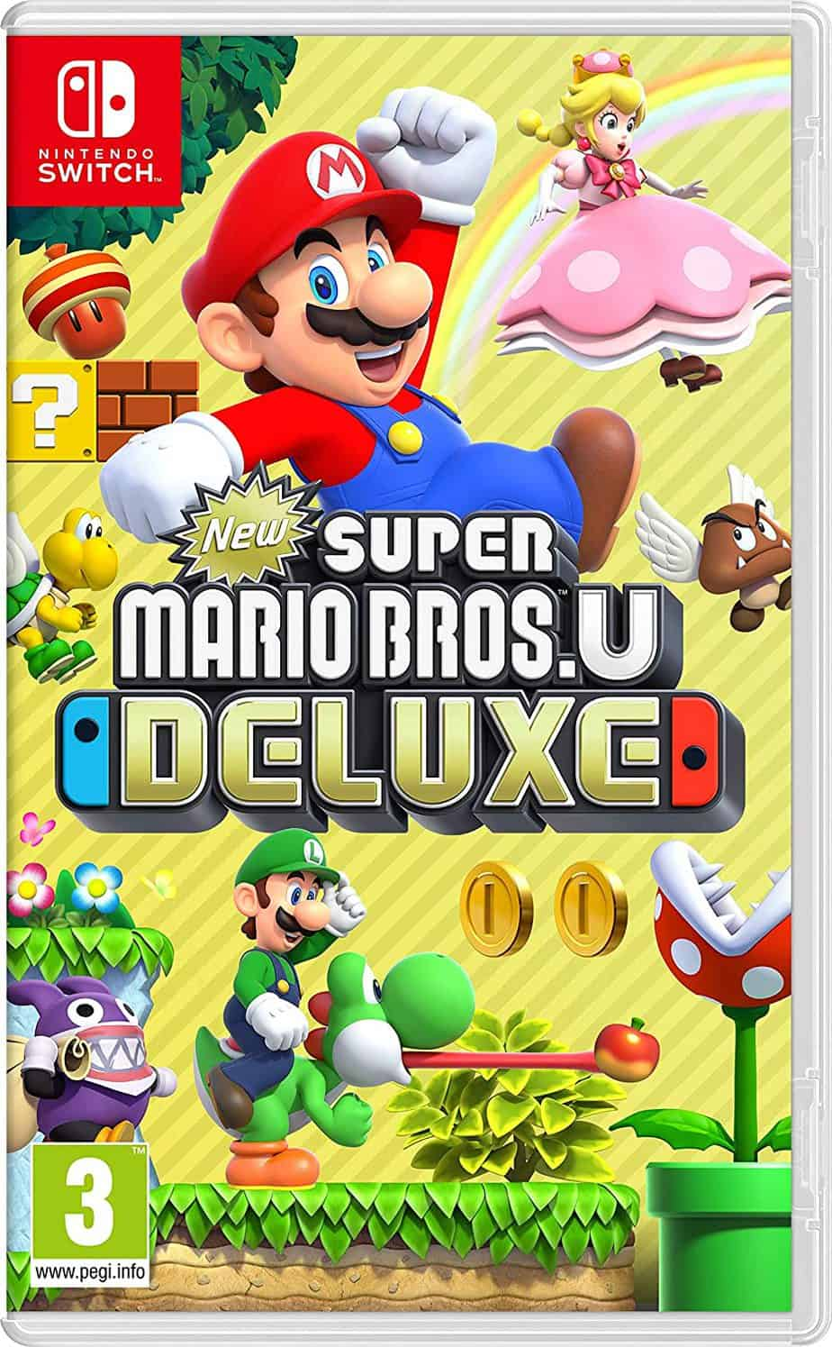 Best Mario Games - Super Mario Bros U Deluxe