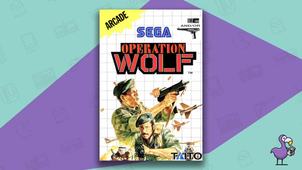 Best Master System Games - Operation Wolf game cover