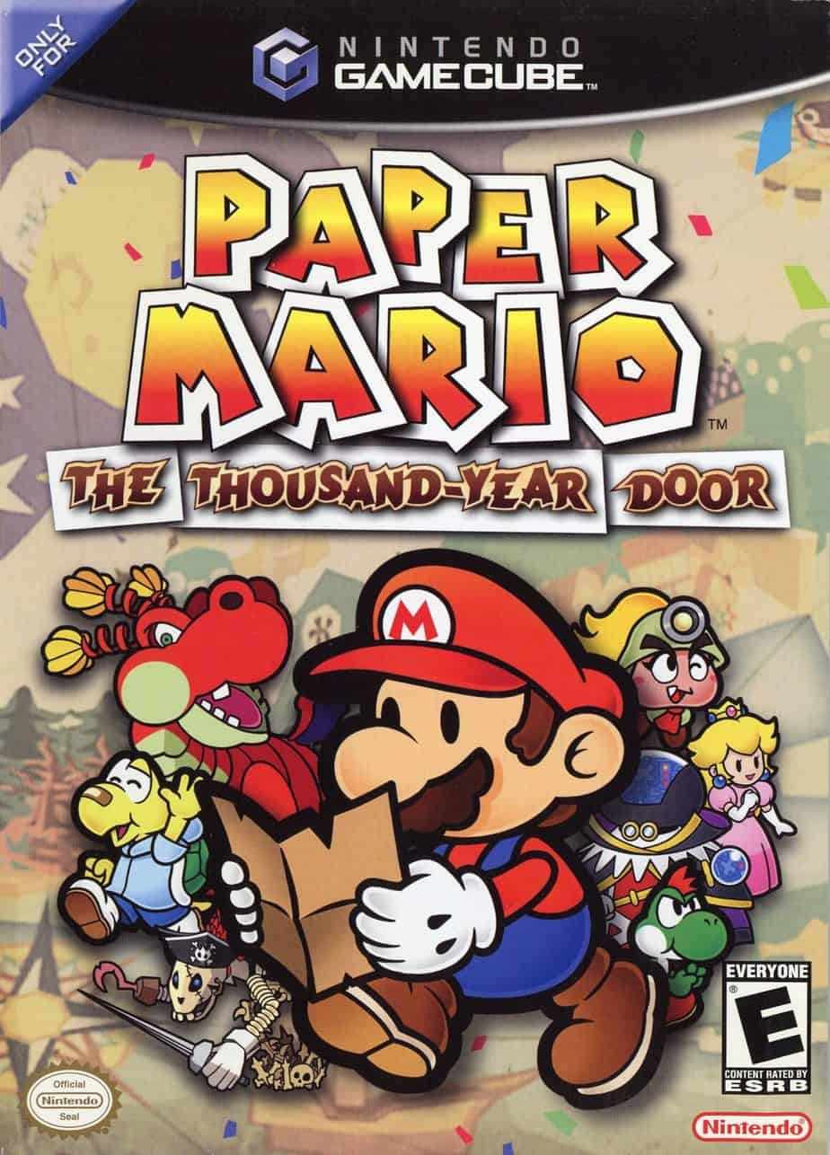 Best Mario Games - Paper Mario: The Thousand Year Door