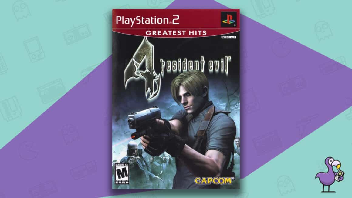 Best PlayStation 2 Horror Games - Resident Evil 4 game case